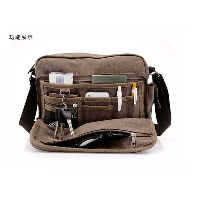 High Quality Korean Canvas Shoulder bag Women School Bags for ...