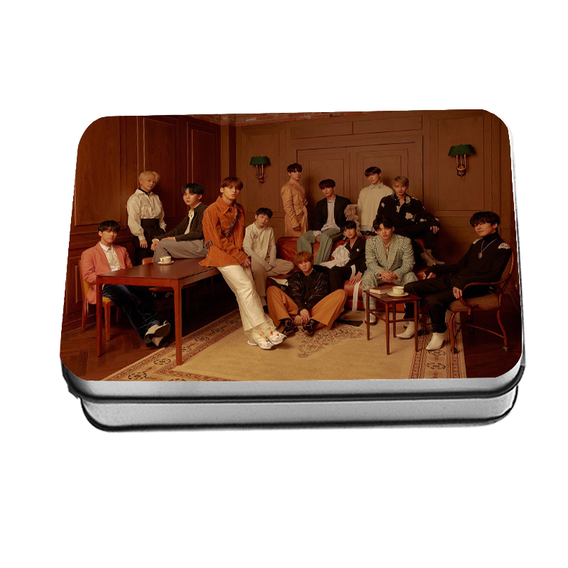 Kpop Seventeen You Made My Dawn Photocard New Fashion Album Polaroid Lomo Photo Card 40pcs/set Drop Shipping Beads & Jewelry Making Jewelry Findings & Components