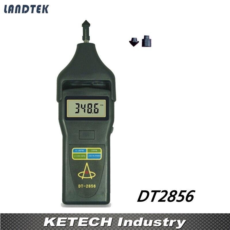 Laser Tachometer Portable Digital Tachometer DT2856 dt 2856 photo touch type tachometer dt2856