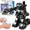 USB Gadgets Battle RC Robot Lichaam Gevoel Mini Size Afstandsbediening Figuur Speelgoed Met Boksen Geluid Kids Gift Toy Model 4