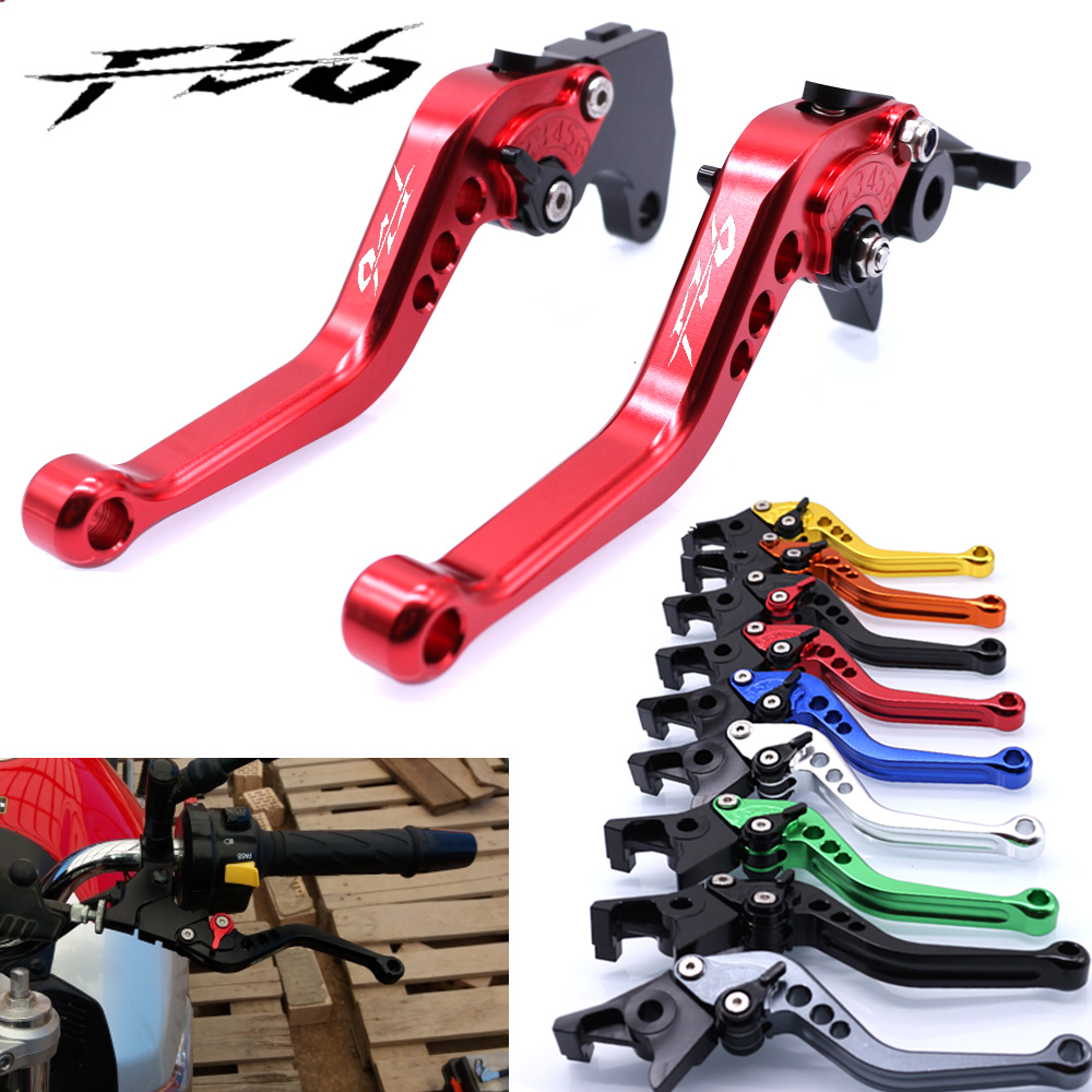 For YAMAHA FZ6 FAZER 2004-2010 FZ6R 2009-2015 Motorcycle Accessories Short Brake Clutch Levers