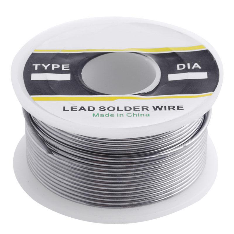 Solder Wire 100g 0.8 / 1 mm 60/40 Flux Reel/Tube Tin Lead Rosin Core ...