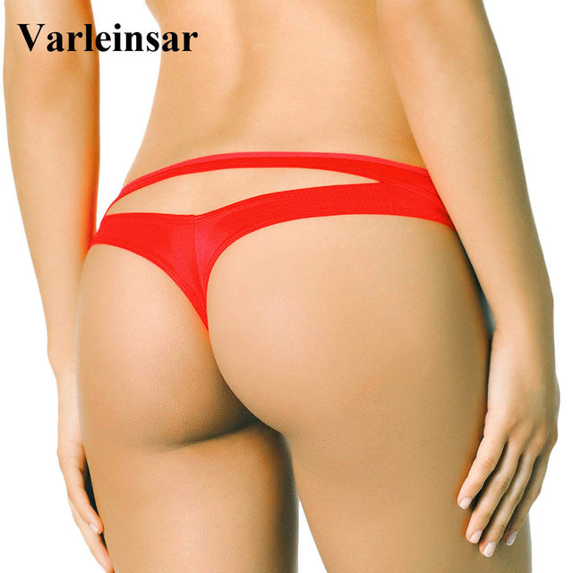 Bather 2019 New brazilian bikini bottom women swimwear female thong  swimsuit tanga micro brief Panty Underwear V505