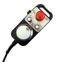Emergency stop Handwheel Universal CNC Router Hand Wheel 4 Axis MPG Pendant Handwheel Emergency Stop