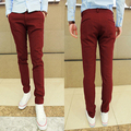 Free Shipping 2016 New Arrival 5 Colors Mens Casual  Slim Pants Men Chinos Trousers Pantalones Hombre Plus Size 13M0110