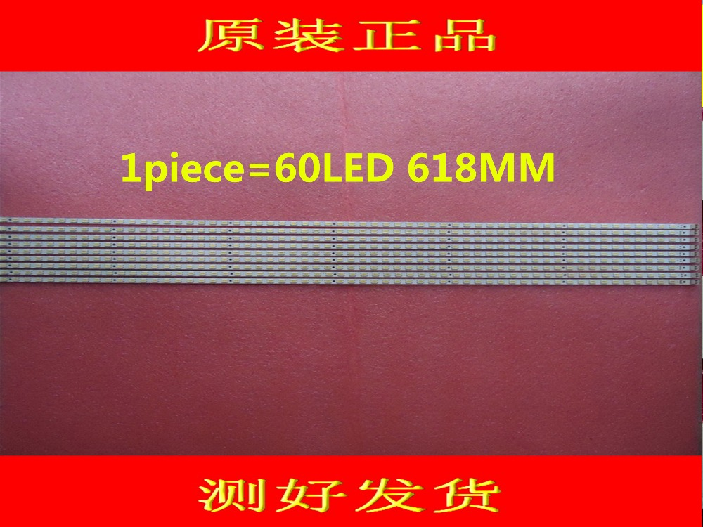 2piece/lot  FOR SONY KDL-55EX720 LTY550HJ03 LED Article Lamp LJ64-02875A STS550A26-60LED-REV.3  1piece=60LED 618MM