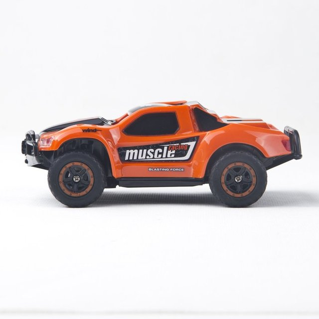 Radio Remote Control Mini RC Car 1/43 Scale 2.4Ghz 14KM/H High Speed RC Rock Crawlers Cars Model Vehicle Toys for Children