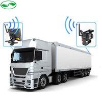 2.4 ГГц Беспроводной Парковка заднего вида Камера + 2.4 ГГц Беспроводной 7 дюймов парковка Мониторы подходит для авто грузовик автобусы Ван