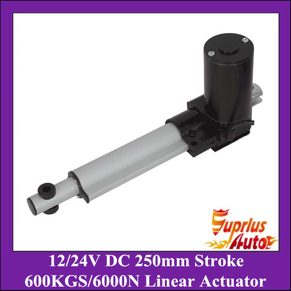 Heavy Duty 12/ 24V DC linear actuator, 10/ 250mm stroke, 6000N/600KG/1320LBS load electric linear actuatorHeavy Duty 12/ 24V DC linear actuator, 10/ 250mm stroke, 6000N/600KG/1320LBS load electric linear actuator