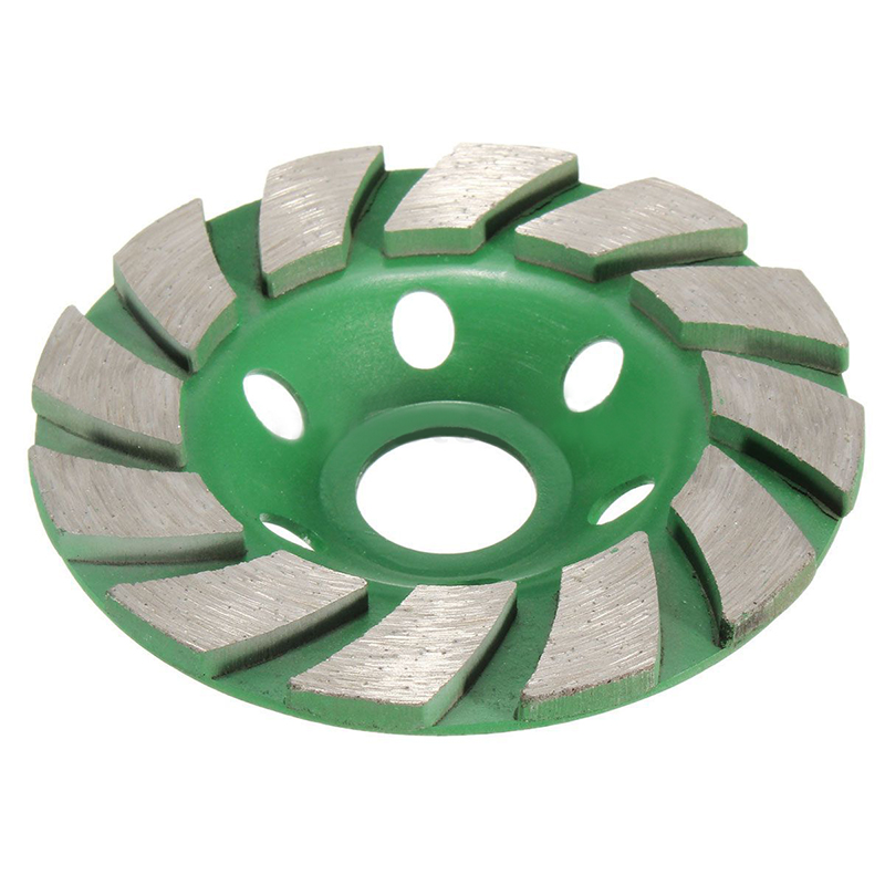 цена на New 4 100mm Diamond Grinding Wheel Disc Bowl Shape Grinding Cup Concrete Granite Stone Ceramics Tools