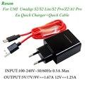 Оригинальное быстрое зарядное устройство Roson с кабелем для передачи данных 1 м и быстрой зарядкой для Umi Umidigi S2/S2 Pro/S2 Lite/Z2/A1 PRO 5 V/7 V/9V-1.67A