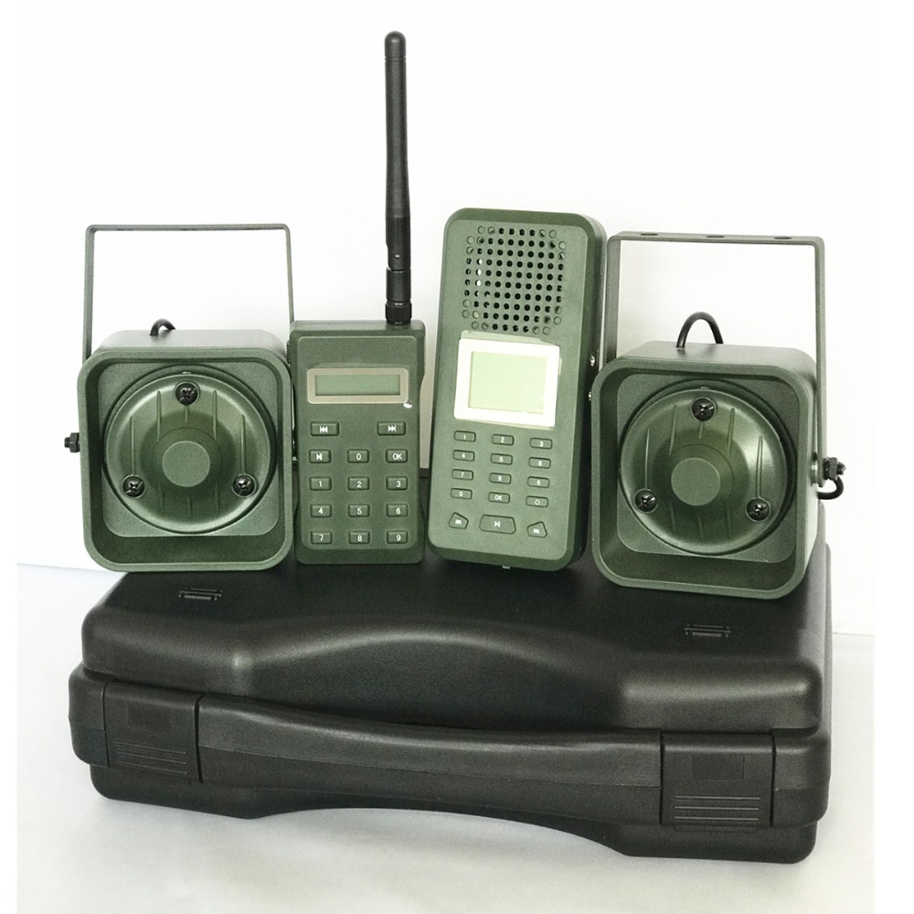 Decoy Hunting Brid caller 300 500m Remoteremote Control 2*50W External Loud Speaker Electronics Animal Caller for Hunting-in Hunting Cameras from Sports & Entertainment