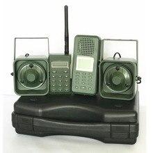Wabiki polowanie Brid dzwoniącego 300 500 m Remoteremote sterowania 2*50 W zewnętrzny głośnik elektroniki zwierząt dzwoniący do polowanie