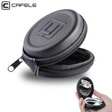Cafele мини-держатель для наушников, чехол для хранения, жесткий футляр, чехол для наушников, наушников, USB кабель, SD, TF карты, защитный чехол