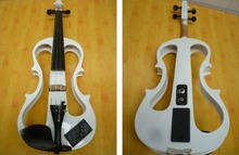2016 High-grade 65 mm socket Pure manual electronic violin size 4/4 South Korea imported pick-up ebony material