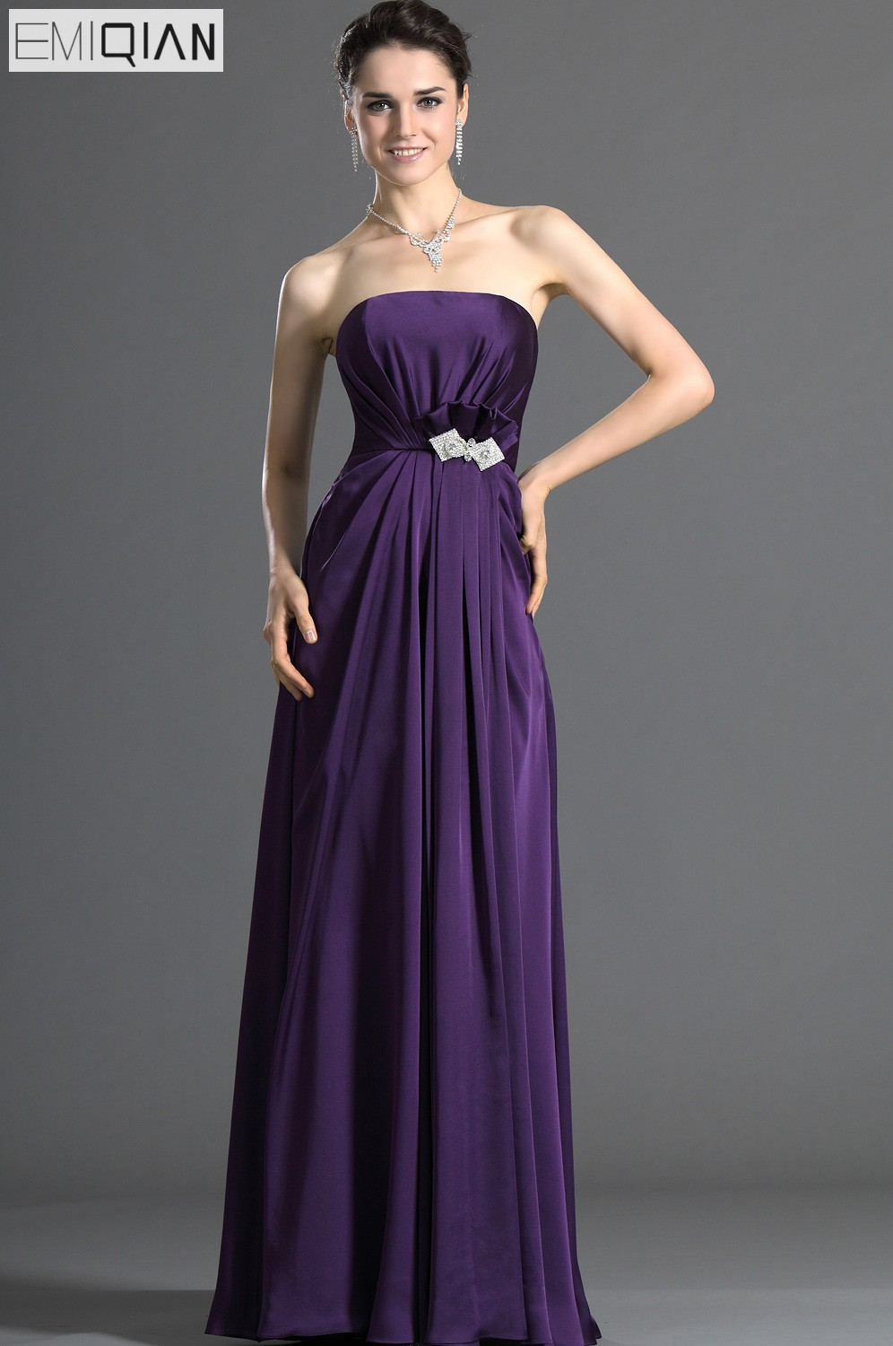 Online Shop for Popular grape bridesmaid dresses from Vestidos de ...