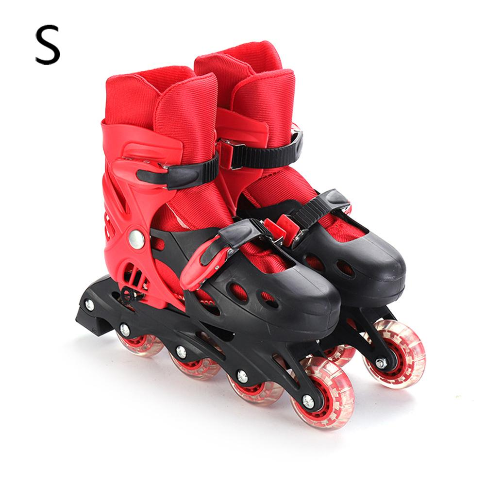 Adjustable Inline Roller Skates Universal For Beginner Adults Boys Girls THICKENED AND COMFORTABLE