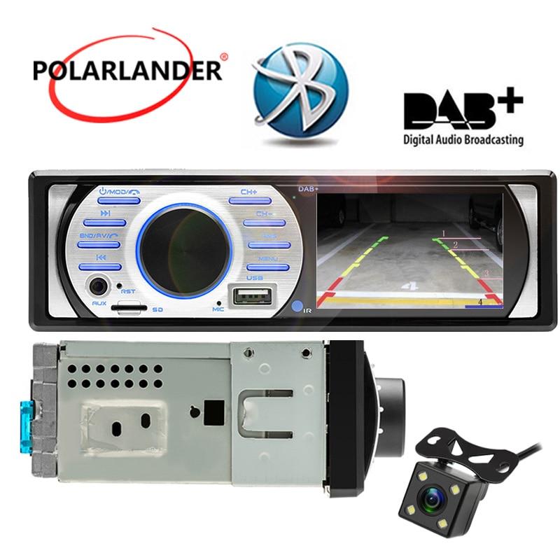цена на 1Din Car Radio In-Dash Interface 12V USB/TF/AUX in 3.0