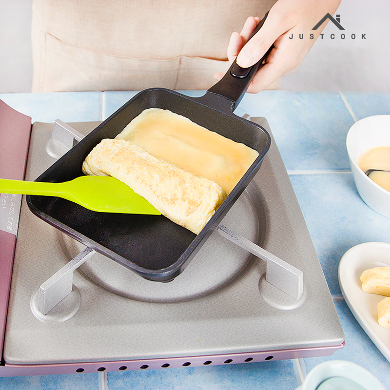 17x12 CM Japanese Tamagoyaki Omelette Pan Non-stick General Use for Gas and Induction Cooker Frying Pans Egg Pancake