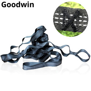 Outdoor Hammock Strap Hammock Belt Rope tying Ultra Thick Nylon Straps Send Pouch For ENO Hammock Loading 2000kg(4409LBS) Strong
