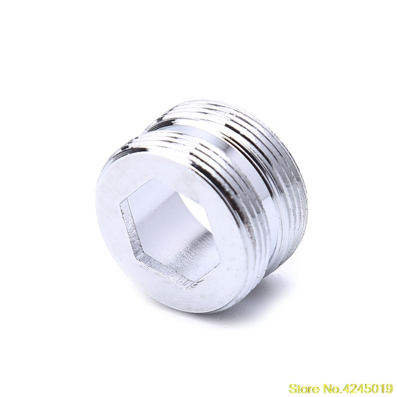 New High quality Solid Metal Adaptor Outside Thread Water Saving Kitchen Faucet Tap Aerator Connector