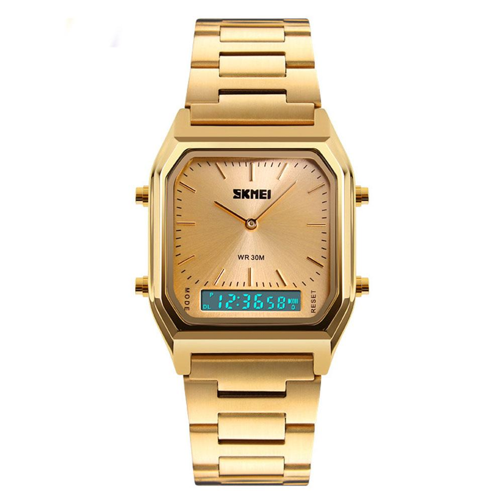 business Vintage Square Dial Analog Stainless Steel luxury Men Wrist Watch Handwear Simple Hot sale Clock dropshipping 2018 new hot sale new style sporting man watch hour timer round water resistant analog stainless steel wrist watch for men boy