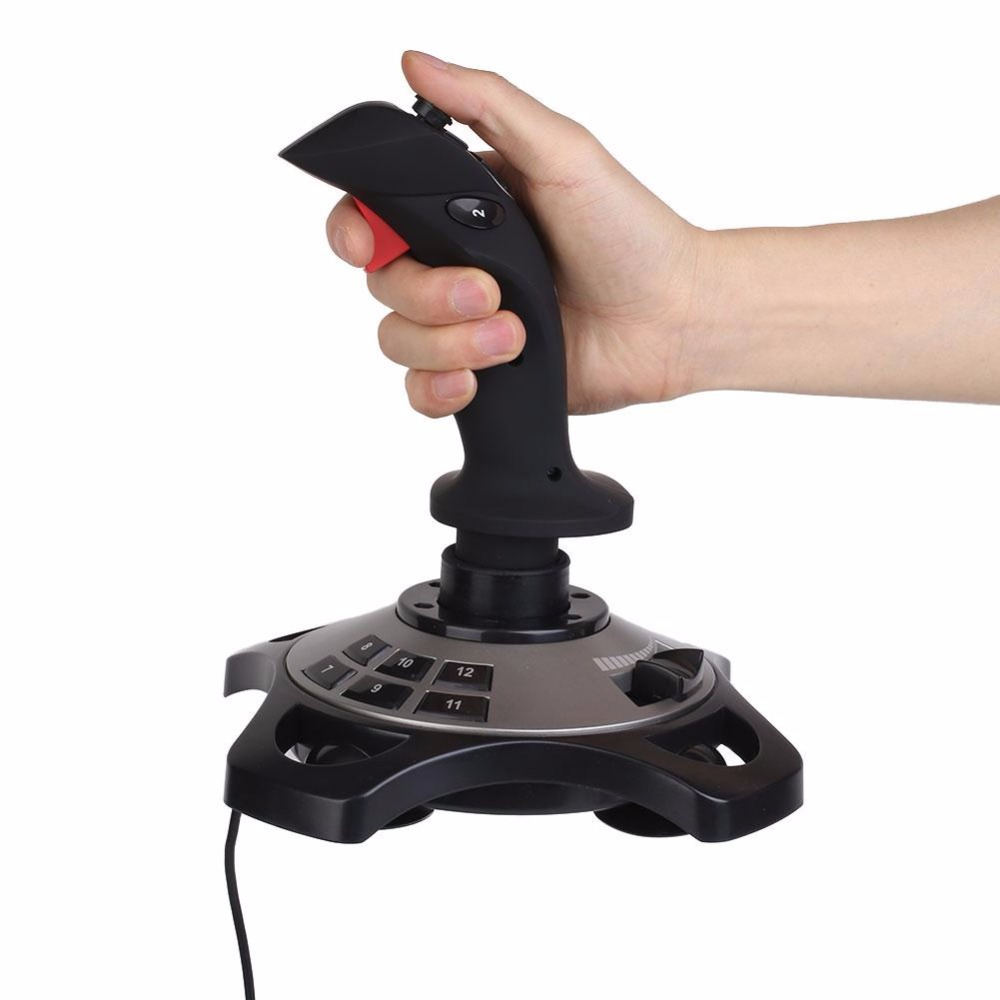Gasky For PXN-2113 USB Joystick Vibration Simulator Game Console Gaming Controller For P ...