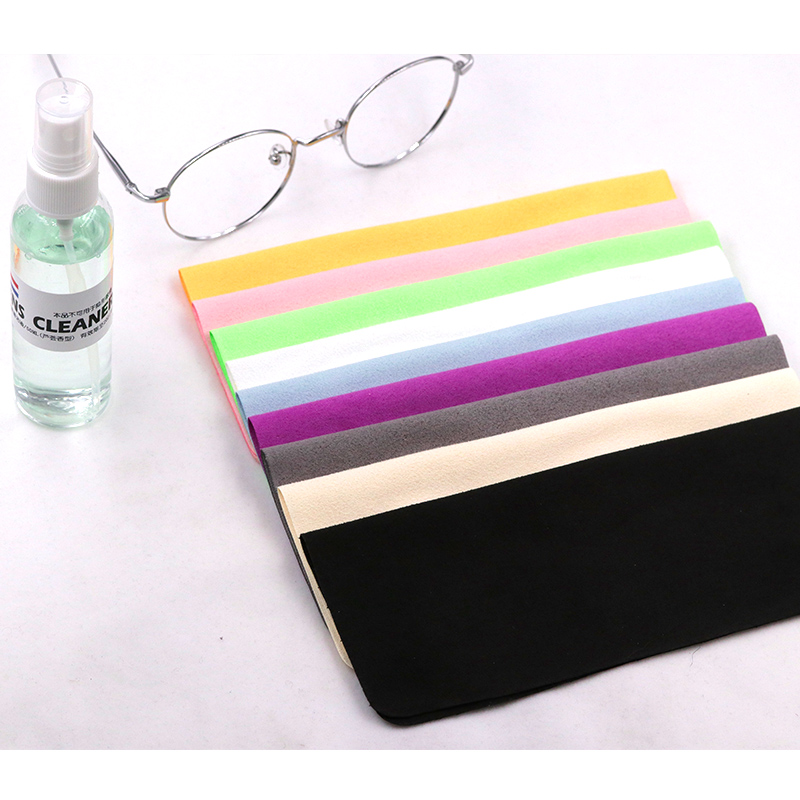COLOUR_MAX 10Pcs Chamois Cleaner Microfiber Glasses Cleaning Cloth For Lens Phone Screen Wipes