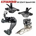 LTWOO AX 2x11 / 3x11 скорость  33s триггерный переключатель передач + задний/передний переключатель 11S Groupset  для SHIMANO M7000 M8000 MTB велосипеда