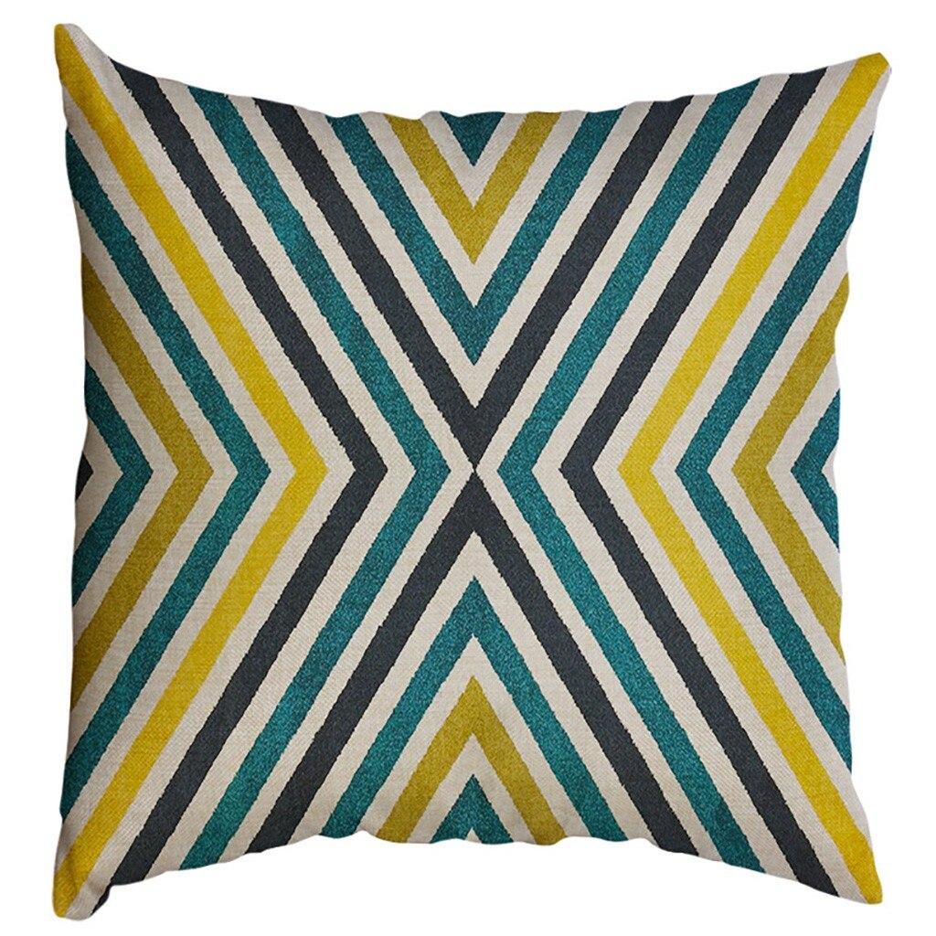 Image 5 - Irregular Geometric Pattern Pillowcase Cushion Cover 60x60cm Sofa Waist Throw Cushion Cover Home Decor Cushion Covers Gift-in Cushion Cover from Home & Garden
