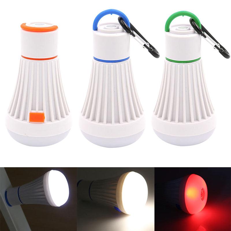 4 Stücke Outdoor Tragbare Hängen Led Camping Zelt Licht Lampe Angeln Laterne Lampe Licht & Beleuchtung Tragbare Laternen