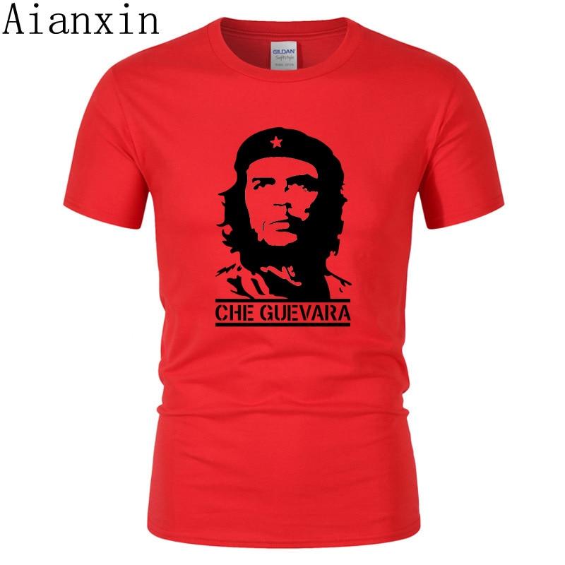 2019 Summer Newest Fashion Che Guevara Printed   T     Shirt   Men Cool Design High Quality Tops Custom   T  -  Shirt   Hipster Tees