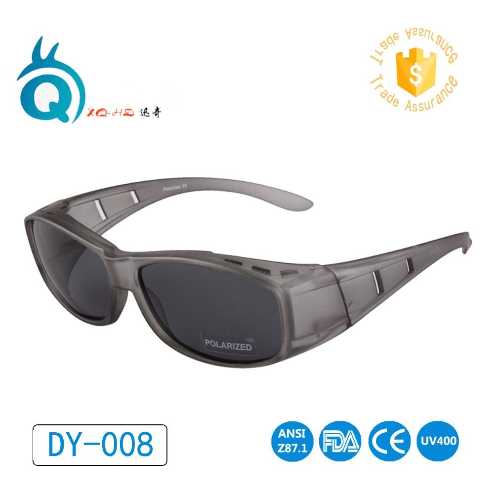 4fa9d3ea14903 Polarized sunglasses Wear Over Prescription Glasses Men Women Fit ...