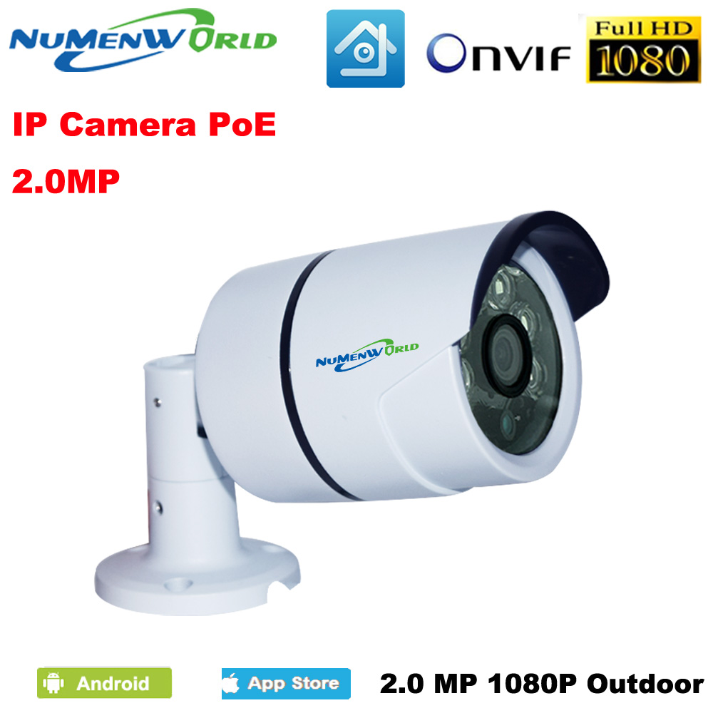 Cam 48V POE IP Camera HD 1080P 2M P2P POE IP Network Camera with Plug and Play  for Mobile Remote View ONVIF ip cam