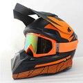 НОВЫЙ Мотоциклетный шлем ATV Dirt велосипед горные крест cascos capacete da motocicleta мотокросс off road шлемы + Очки
