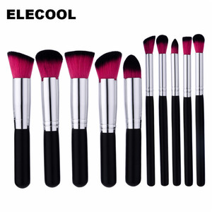 GUJHUI 10/4pcs Makeup Brushes