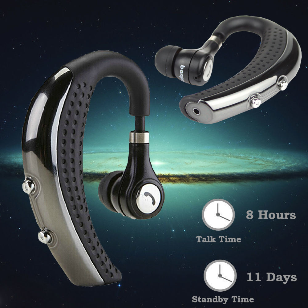 Wireless Bluetooth 4.0 Earphone Nosie Cancelling Sport Headset Stereo Music Earhook Earbuds for iPhone Samsung Android Phone remax 2 in1 mini bluetooth 4 0 headphones usb car charger dock wireless car headset bluetooth earphone for iphone 7 6s android