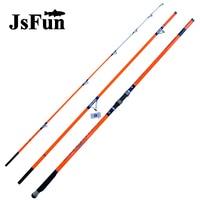 SpuerHard 4.2M Telescopic Fishing Rod 3 Sections Carbon Rod Fuji Guides Ultralight Surf Rod Sea Fishing Olta FG171