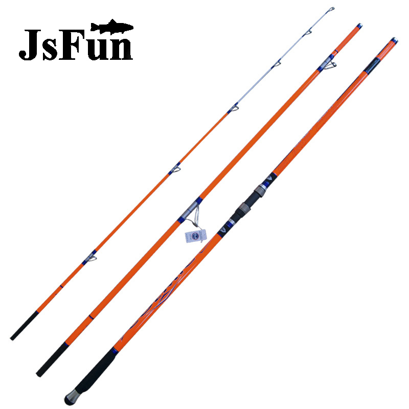 SpuerHard 4.2M Telescopic Fishing Rod 3 Sections Carbon Rod Fuji Guides Ultralight Surf Rod Sea Fishing Olta FG171