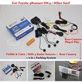 Carro Sensores de Estacionamento + Câmera de Visão Traseira = 2 em 1 Visual/SW4 BIBI Alarme Sistema De Estacionamento Para Toyota 4 Runner/Hilux Surf 2002 ~ 2010