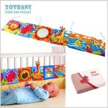 Детская кроватка бампер Детские игрушки детская книга из ткани для детей Погремушки познание вокруг мультитач красочная кровать бампер для детей игрушки 92*14 см