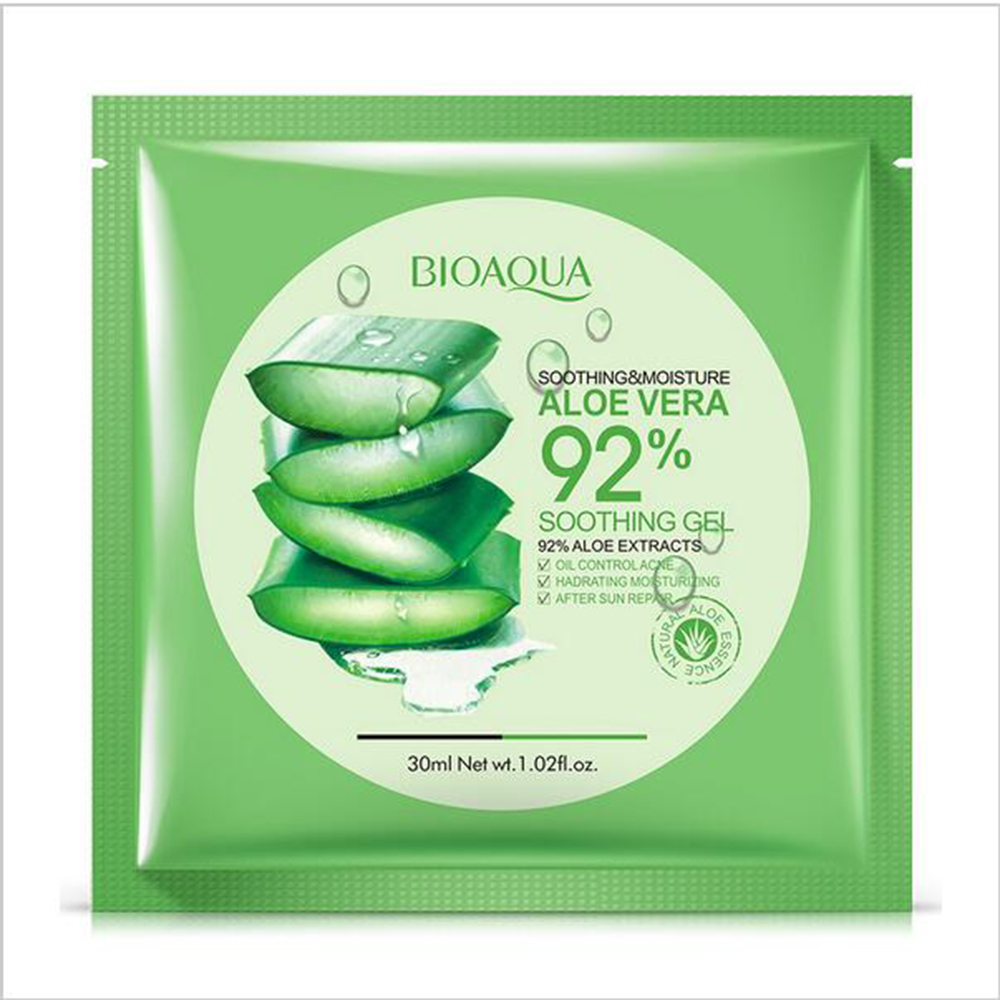 5pcs BIOAQUA Aloe Vera Collagen Mask,Anti-aging,Moisturizings