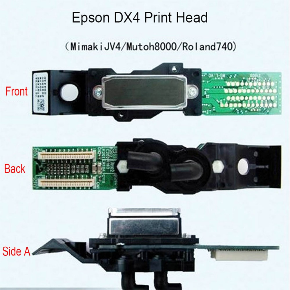 New Original Solvent Printhead for Mimaki JV3JV4 Roland VP540 VP640 RS540 640 VS540 640 SP300 SP540 SC-545EX FJ-540 740 Printer original roland scan motor 6700469020 for vp 540 vp 300 rs 640 printer