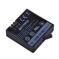 1Pcs AZ16 1Xiaomi YI 4K Battery 1400mAh 3 85V Rechargeable Battery For XiaoYi 4K 2 Action