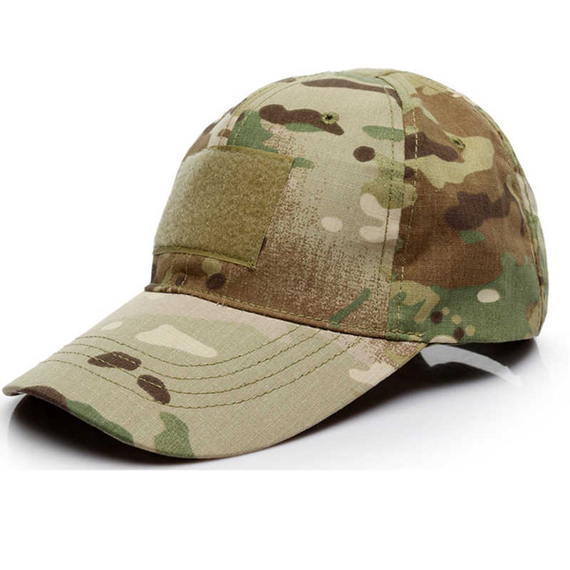 44c4493659ab68 ... MAGCOMSEN Military Hats Men Summer Camouflage Army Tactical Hats  Adjustable Breathable Men Unisex Snapback Caps Hat ...