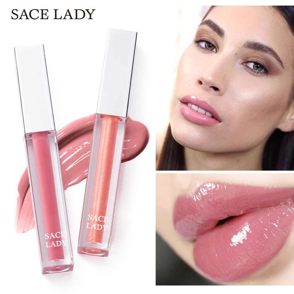 SACE LADY Glitter Lip Lak Make-Up Beauty Shine Lipgloss Make Up Glad Shimmer Lipgloss Sexy Hydraterende Merk Cosmetische