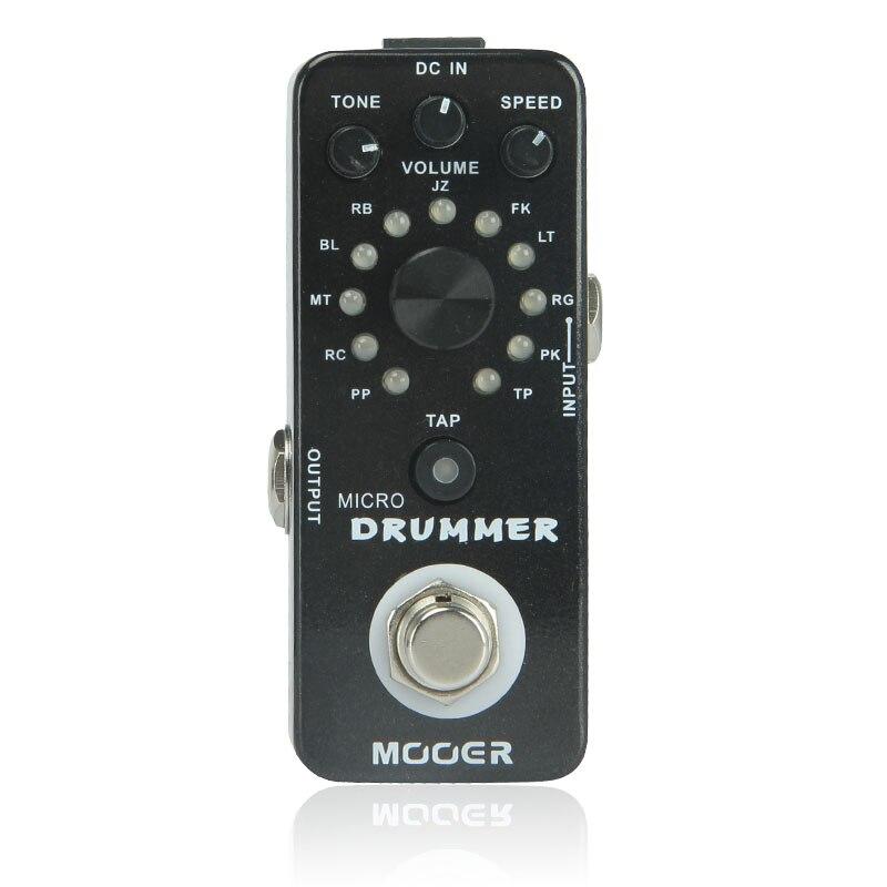 Mooer Micro Drummer Digital Drum Machine Micro Guitar Effects Pedal