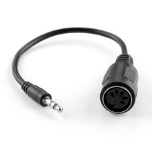 MIDI Adapter Breakout Kabel B 3.5mm Stereo Audio Jack naar DIN Vrouwelijke