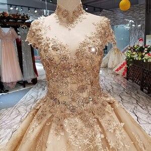 Image 3 - AIJINGYU robe de mariée près de moi, en Tulle, pas cher, petite taille, robe de mariée impériale, robe de mariée impériale, décontracté
