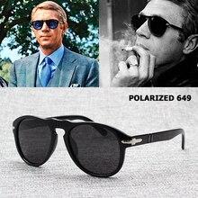 Классические винтажные jackjad 649 Авиатор Стиль поляризованных солнцезащитных очков мужчин вождения новый бренд Дизайн солнцезащитные очки Óculos де Sol masculino